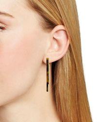 Rebecca Minkoff - Multicolor Geo Drop Earrings - Lyst