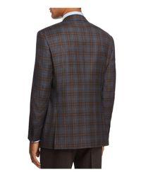 Canali - Gray Plaid Classic Fit Sport Coat for Men - Lyst