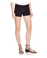 PAIGE - Denim Jimmy Jimmy Shorts In Vintage Black - Lyst