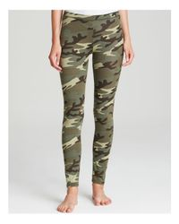 Alternative Apparel - Green Leggings - True Camo Printed - Lyst