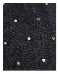 Marc Jacobs - Black Wingman Embellished Denim Tote - Lyst