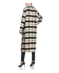 PPLA Multicolor Livia Check Coat
