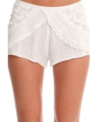 Jen's Pirate Booty - White Versailles Shorts - Lyst
