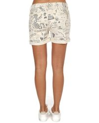 Mother - Multicolor The Vagabond Cuff Shorts - Lyst