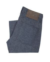 Naked & Famous - Blue Super Skinny Guy Flannel Denim for Men - Lyst