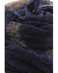 Yigal Azrouël - Blue Horse Scarf - Lyst