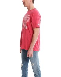 Todd Snyder - Red Champion Boxing Graphic Tee for Men - Lyst