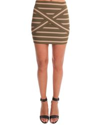 Pleasure Doing Business | Green Pleasure Doing Buisness Cross Band Skirt | Lyst