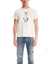 Remi Relief | White Bird Tee for Men | Lyst