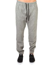 Shades of Grey by Micah Cohen | Gray Woven Easy Pant for Men | Lyst