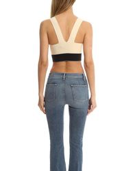 Rag & Bone - White Regina Crop Top - Lyst