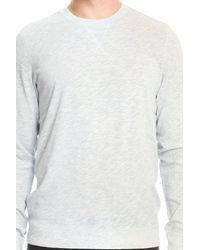 Vince - Blue Crew Pullover for Men - Lyst