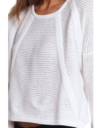 Helmut Lang - White Fine Cord Pullover - Lyst