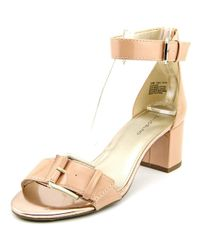 Bandolino - Pink Sages Women Open Toe Synthetic Sandals - Lyst
