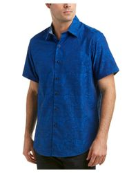 Robert Graham - Blue Bell Gardens Classic Fit Woven Shirt for Men - Lyst