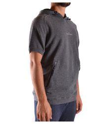 Stone Island - Gray Men's Grey Cotton Sweatshirt for Men - Lyst