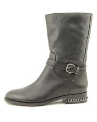 Carolinna Espinosa - Black Womens Shirley Closed Toe Mid-calf Combat Boots - Lyst