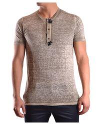 Avant Toi | Brown Men's Beige Linen T-shirt for Men | Lyst