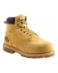 "Dickies - Brown Men's Prowler 6"" Steel Toe Work Boot for Men - Lyst"