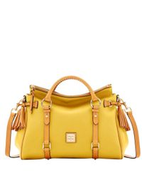 Dooney & Bourke - Yellow City Medium Satchel - Lyst