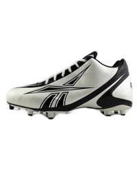 Reebok - Black Nfl Burner Speed 5/8 M3 Round Toe Leather Cleats for Men - Lyst