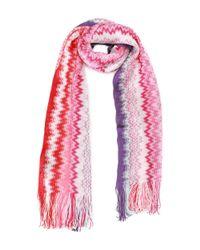 Missoni - Pink Women's Multicolor Viscose Scarf - Lyst