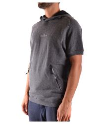 Stone Island - Gray Men's Grey Cotton Sweatshirt for Men - Lyst