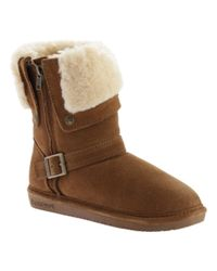 BEARPAW | Brown Women's Madison Boot | Lyst