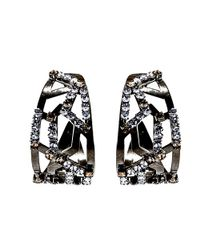 Nicole Romano - Metallic Circini Earrings - Lyst