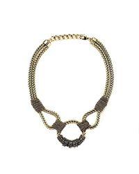 Nicole Romano - Metallic Copaia Necklace - Lyst
