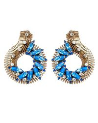 Nicole Romano | Blue Vinea Earrings | Lyst