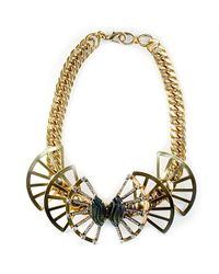 Nicole Romano - Metallic Maylin Necklace - Lyst