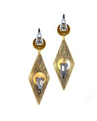 Nicole Romano | Metallic Shen Earrings | Lyst