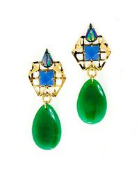 Nicole Romano - Green Shunyuan Earrings - Lyst