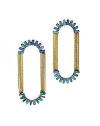 Nicole Romano - Metallic Alvatore Earrings - Lyst
