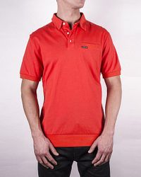 Members Only | Red Men's Signature Polo Shirt for Men | Lyst