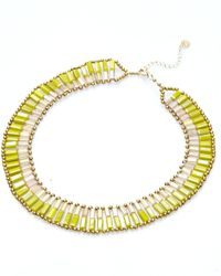 Nakamol - Multicolor Dual Personality Necklace-serpentine/citrine - Lyst