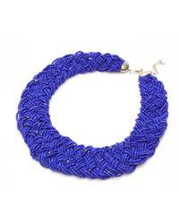Nakamol - Multicolor Marja Necklace-cobalt - Lyst