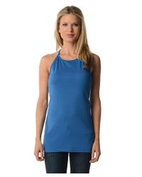 Blue Plate | Blue Solid Tank Top | Lyst