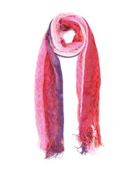 Missoni - Pink Women's Multicolor Viscose Scarf - Lyst