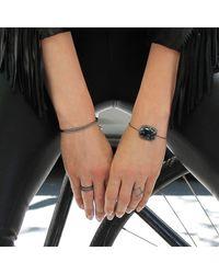 Adornia   Metallic Mercer Linear Cuff Bracelet   Lyst