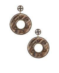 Vanhi | Metallic Gold Vermeil Diamond & Mother Of Pearl Dangle Earrings | Lyst