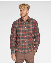 Threads For Thought - Gray No Pocket Flannel Shirt for Men - Lyst