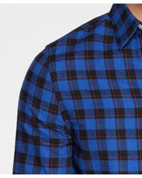 Threads For Thought - Blue One Pocket Flannel Shirt for Men - Lyst