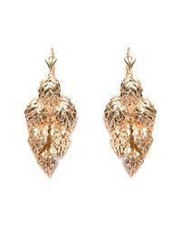 Peermont | Metallic Gold Leaf Earrings | Lyst