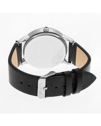 Simplify - Metallic The 2800 Leather-band Watch - Lyst