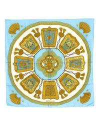 Hermès - Blue Pre-owned: Poste Et Cavalerie - Lyst