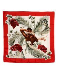 Hermès - Red Pre-owned: Turbans Des Reines - Lyst