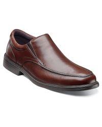 Florsheim - Brown Men's Rally Moc Slip Loafers Shoes for Men - Lyst