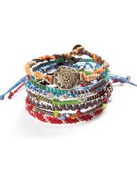 Wakami - Multicolor Earth Bracelet - Lyst